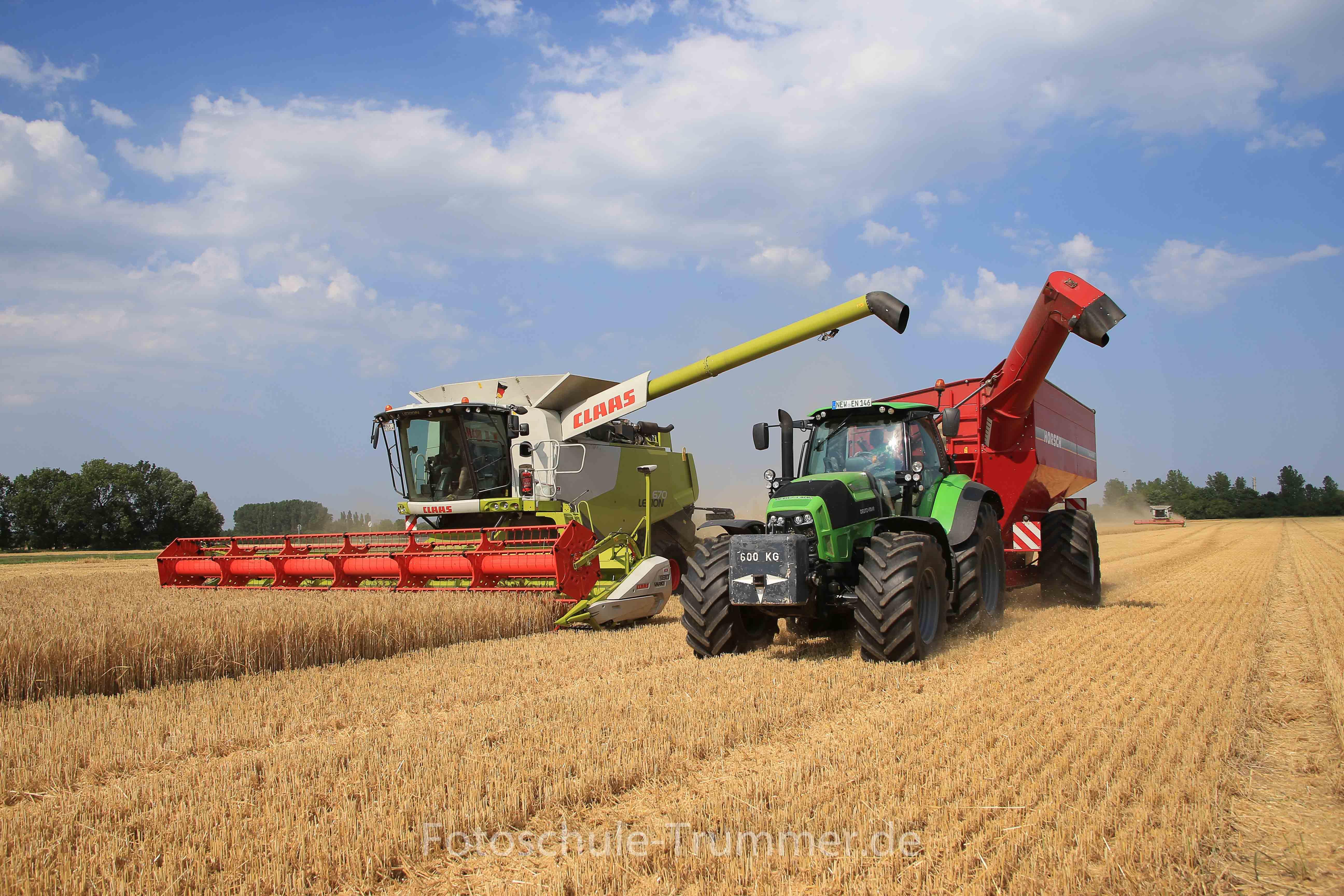 LandwirtschaftWintergerste erntet die Agricola in Tröglitz
